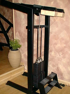 GR-Selectorised Calf Raise Machine